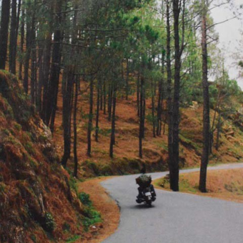 Motorcycle Diaries, Himalayas Notebook