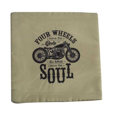 MOTORCYCLE CLUB CUSHION COVERS