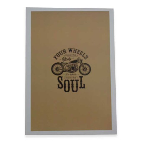 MOTORCYCLE CLUB WALL ART