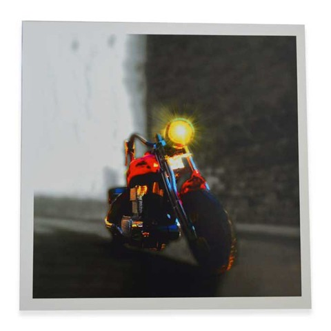 Boy Toy Bike Square Print