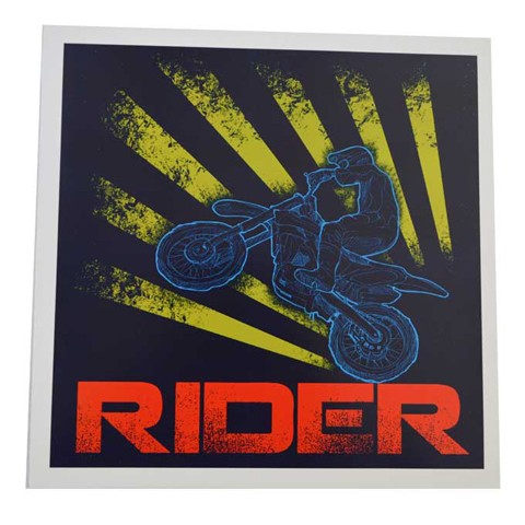 Rider Square Art