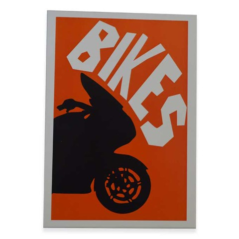 Bike Pop Art Print