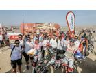 Hero MotoSports Team Rally secures their second Top 10 finish at the Dakar 2019