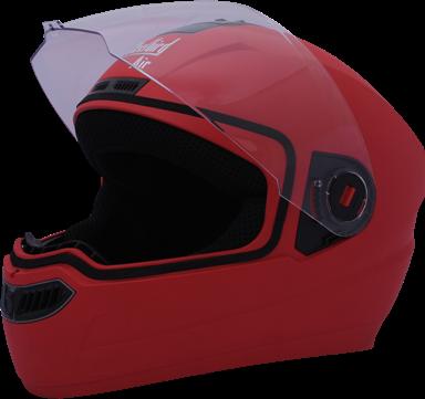 sba 1 air classic full face helmet red colour